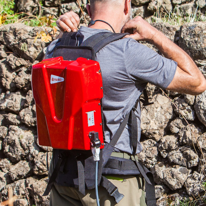 ergonomic shoulder backpack